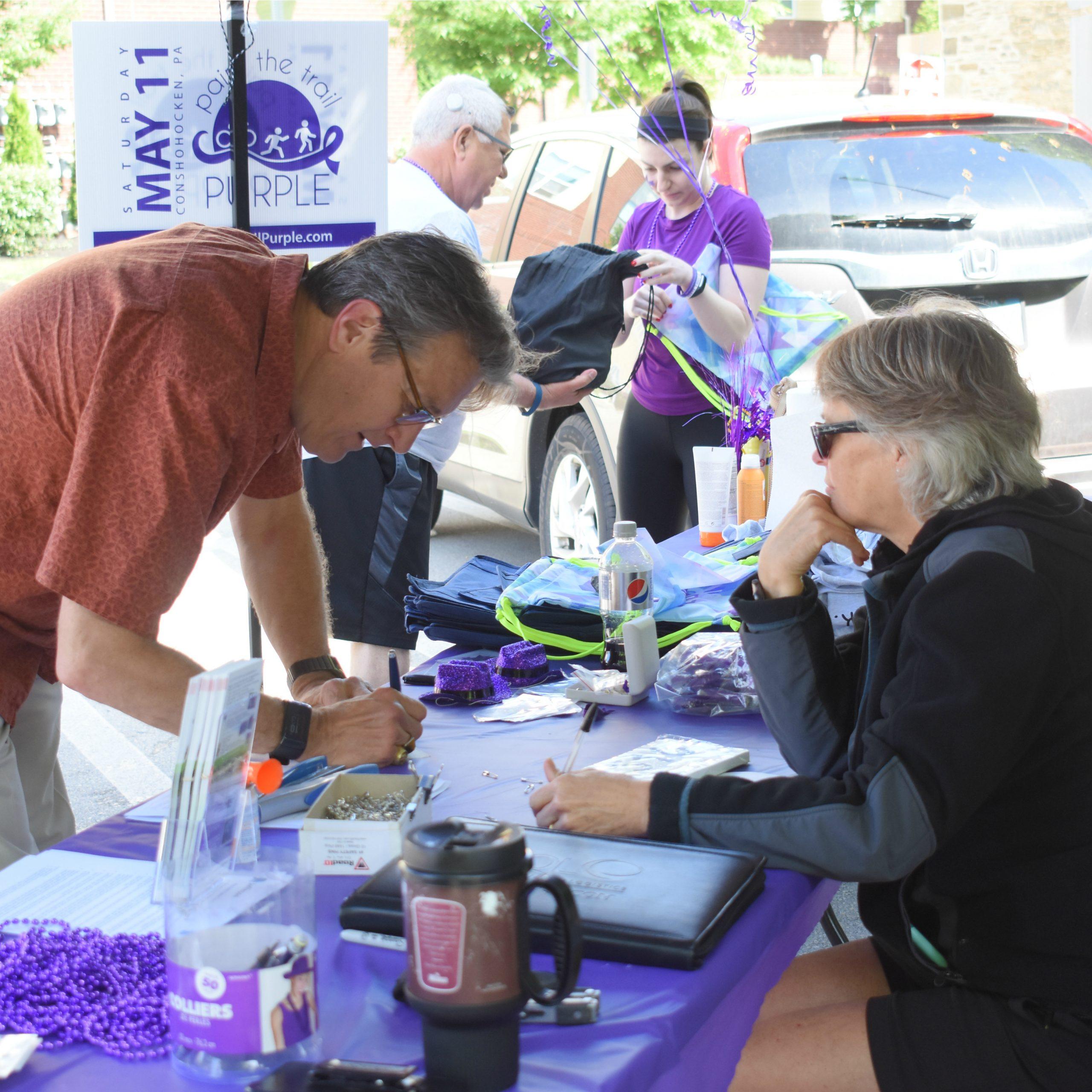 Paint The Trail Purple - Defeat Pancreatic Cancer