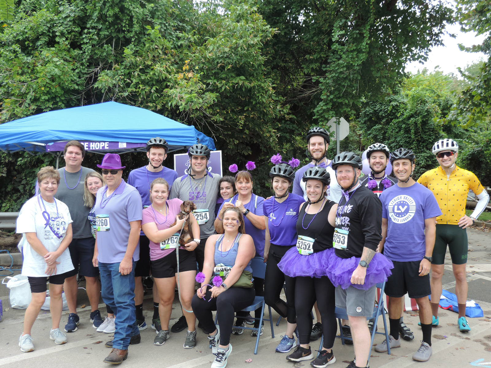 2021 Paint The Trail Purple Event